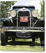 1930 Model-a Tudor 3 Canvas Print