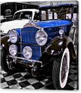 1930 Packard Limousine Canvas Print