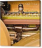 1930 Packard Speedster Runabout Engine -0539c Canvas Print