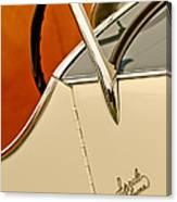 1931 Alfa Romeo 6c 1750 Gran Sport Aprile Spider Corsa Steering Wheel Canvas Print
