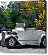 1931 Ford 'model A' Roadster Canvas Print