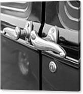 1931 Ford Model T Door Handles Canvas Print