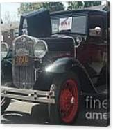 1931 Ford Sedan Canvas Print