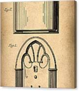 1931 Philco Radio Patent Canvas Print