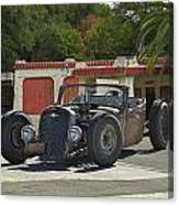 1931 Rataoulle 'rat Rod' Canvas Print