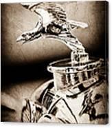 1932 Alvis Hood Ornament - Emblem Canvas Print
