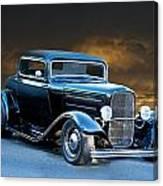 1932 Deuce Coupe Canvas Print