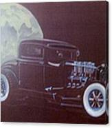 1932 Ford Coupe-harvest Moon Coupe Canvas Print