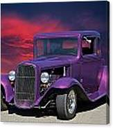 1932 Ford Coupe 'people Eater' Canvas Print