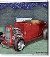 1932 Ford High Boy Canvas Print