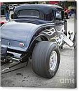 1932 Ford Highboy Back View Classic Car Automobile In Color  310 Canvas Print