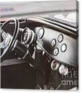 1932 Ford Highboy Dashboard Car Automobile In Color  3108.02 Canvas Print