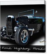 1932 Ford Highboy Roadster Canvas Print
