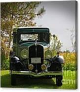 1932 Frontenac 6-70 Sedan  Canvas Print