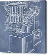 1932 Machine Patent Canvas Print