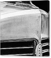 1932 Marmon Sixteen Lebaron Victoria Coupe Hood Ornament - Grille Emblem - 1904bw Canvas Print