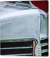 1932 Marmon Sixteen Lebaron Victoria Coupe Hood Ornament - Grille Emblem - 1904c Canvas Print