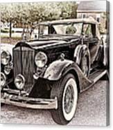 1932 Packard 903 Victoria Canvas Print