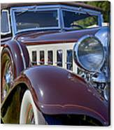 1933 Chrysler Imperial - Cl Phaeton Canvas Print