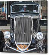 1933 Ford Two Door Sedan Front View Canvas Print