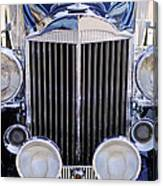 1933 Packard 12 Convertible Coupe Grille Canvas Print