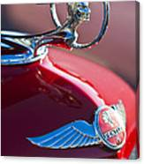 1933 Pontiac Hood Ornament 3 Canvas Print