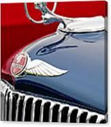 1933 Pontiac Street Rod Hood Ornament Canvas Print