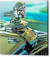 1933 Stutz Dv-32 Hood Ornament Canvas Print