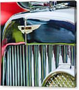 1934 Aston Martin Mark II Short Chassis 2-4 Seater Grille Emblem Canvas Print