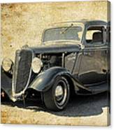 1934 Ford Five Window Coupe Canvas Print