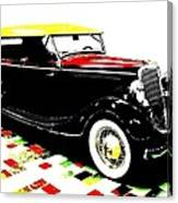 1934 Ford Phaeton V8  Canvas Print