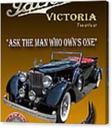 1934 Packard Canvas Print