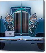 1934 Packard Super 8 Canvas Print