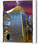 1934 Packard With  Brush Frame Canvas Print