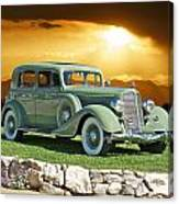1935 Buick 61 Sedan Canvas Print