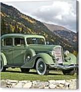 1935 Buick Club Sedan Canvas Print