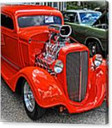 1935 Chevy Coupe Canvas Print
