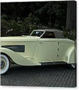 1935 Duesenberg J Roadster  Canvas Print
