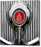 1935 Pierce-arrow 845 Coupe Emblem Canvas Print
