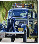 1935 Plymouth Taxi Cab Canvas Print