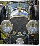 1936 Bentley 4.5 Litre Lemans Rc Series Canvas Print