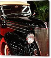 1936 Ford Deluxe Roadster - 5d19963 Canvas Print