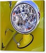 1936 Ford Pickup Headlamp Canvas Print