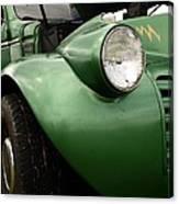 1936 Funeral Truck Headlight Canvas Print