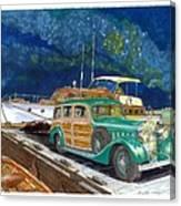 1936 Hispano Suiza Shooting Brake Canvas Print
