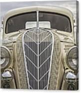 1936 Hudson Terraplane Truck Canvas Print