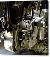 1936 Indian Flat Tracker Motorcycle Canvas Print