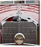 1936 Mercedes-benz 540k Mayfair Special Roadster Grille Canvas Print