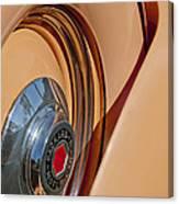1936 Packard Spare Tire  Canvas Print