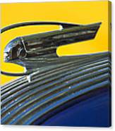 1936 Pontiac Hood Ornament 2 Canvas Print